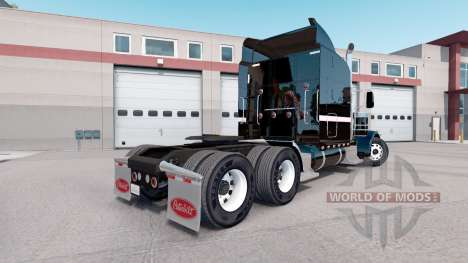 Скин Metallic Paintable на тягач Peterbilt 389 для American Truck Simulator