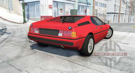 BMW M1 (E26) 1978 для BeamNG Drive