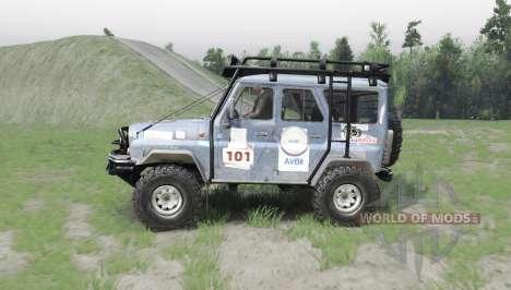 УАЗ 31514 Trofi для Spin Tires