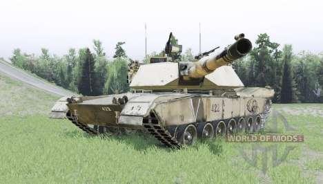 M1A1 Abrams для Spin Tires