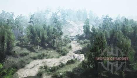 Country trail v1.1 для Spintires MudRunner
