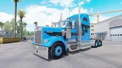 Скин Blue Black на тягач Kenworth W900