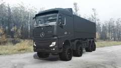 Mercedes-Benz Actros (MP4) chassis 8x8 для MudRunner
