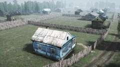 Деревня - Лесной уголок для MudRunner