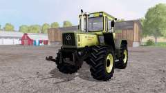 Mercedes-Benz Trac 1800 Intercooler green для Farming Simulator 2015