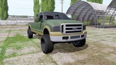 Ford F-350 Super Duty Crew Cab 2006 King Ranch для Farming Simulator 2017