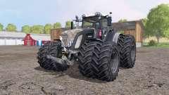 Fendt 936 Vario black для Farming Simulator 2015