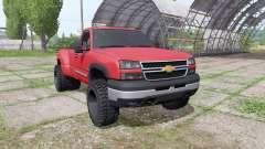 Chevrolet Silverado Regular Cab duramax 2004 для Farming Simulator 2017