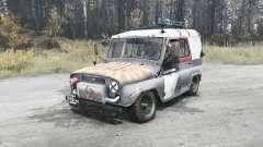 УАЗ 3151 корч для MudRunner