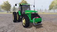 John Deere 8400 v4.0 для Farming Simulator 2013