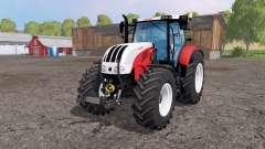Steyr 6230 CVT front loader для Farming Simulator 2015