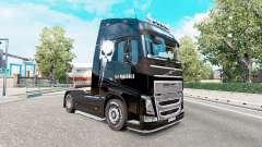 Скин Punisher на тягач Volvo FH-series