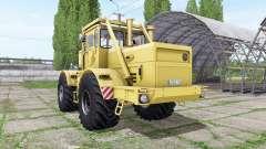 Кировец К 700А v1.2 жёлтый для Farming Simulator 2017