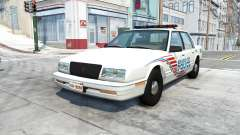 Bruckell LeGran belasco city police для BeamNG Drive