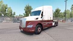 Скин Caffenio на тягач Peterbilt 579 для American Truck Simulator