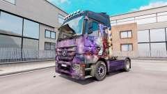 Скин Аэрограф на тягач Mercedes-Benz Actros MP3 для Euro Truck Simulator 2