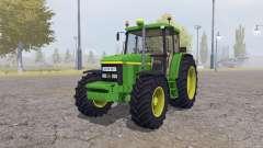 John Deere 6610 green для Farming Simulator 2013