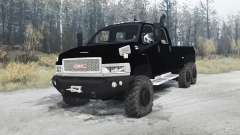 GMC TopKick C4500 pickup 6x6 для MudRunner