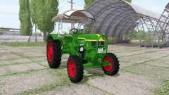 Deutz D40 4WD для Farming Simulator 2017