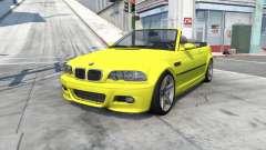 BMW M3 cabrio (E46) 2001 для BeamNG Drive