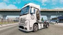 Скин Viking Warrior на Mercedes-Benz Actros MP4