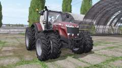 Massey Ferguson 8727 v3.0.3 для Farming Simulator 2017