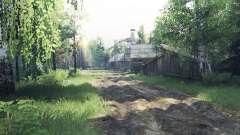 Село Рябково v1.1 для Spin Tires