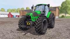 Deutz-Fahr Agrotron 7250 TTV green для Farming Simulator 2015