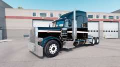 Скин Metallic Paintable на тягач Peterbilt 389