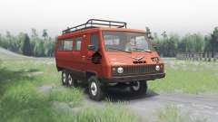 УАЗ 3972 опытный 1990 6x6 v1.1