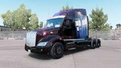 Скин Doctor Who на тягач Peterbilt 579 для American Truck Simulator