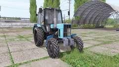 МТЗ 82.1 Беларус синий для Farming Simulator 2017