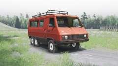 УАЗ 3972 опытный 1990 6x6 для Spin Tires