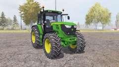 John Deere 6150M v2.0 для Farming Simulator 2013