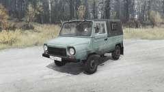 ЛуАЗ 969M для MudRunner