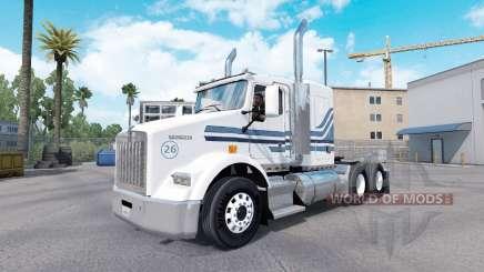 Скин MTV на тягач Kenworth T800 для American Truck Simulator