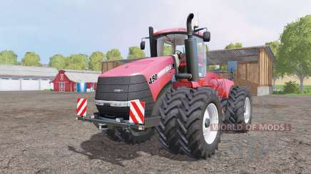 Case IH Steiger 450 red для Farming Simulator 2015