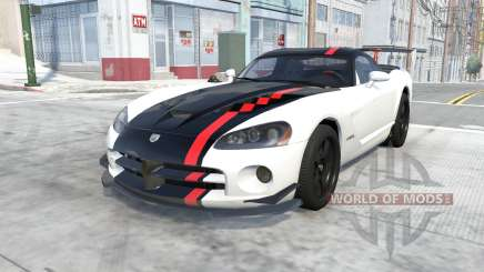Dodge Viper SRT10 ACR 2010 для BeamNG Drive