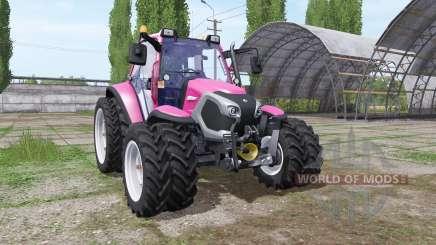 Lindner Lintrac 90 pink для Farming Simulator 2017