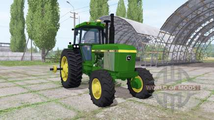 John Deere 4640 v1.1 для Farming Simulator 2017