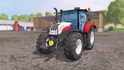 Steyr Profi 4130 CVT front loader для Farming Simulator 2015
