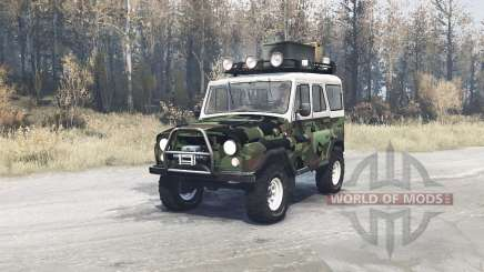 УАЗ 469 Трофи для MudRunner