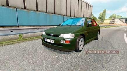 Brazilian traffic v1.4 для Euro Truck Simulator 2