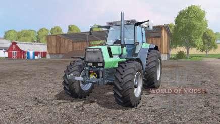 Deutz-Fahr AgroStar 6.61 зелёный для Farming Simulator 2015