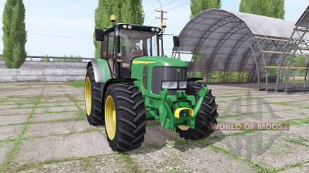 John Deere 6920S green для Farming Simulator 2017