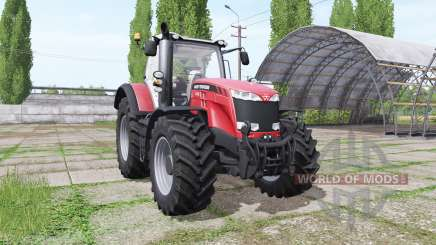 Massey Ferguson 8732 red для Farming Simulator 2017