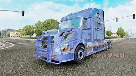 Volvo VNL 780 6x2 v4.0  для Euro Truck Simulator 2