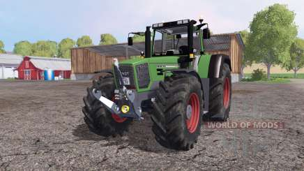 Fendt Favorit 824 Turboshift для Farming Simulator 2015