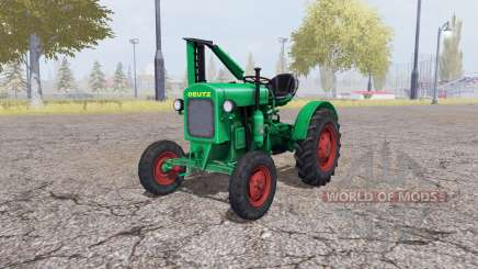 Deutz F1 M414 v3.0 для Farming Simulator 2013