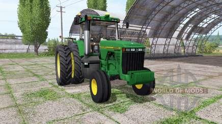 John Deere 8200 для Farming Simulator 2017